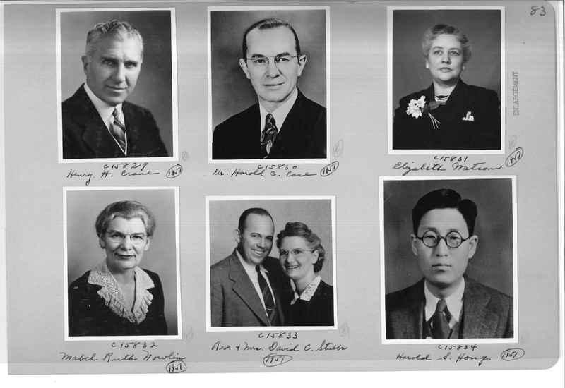 Mission Photograph Album - Portraits #07 Page 0083