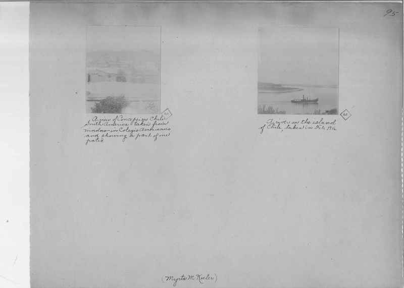 Mission Photograph Album - South America O.P. #1 page 0095