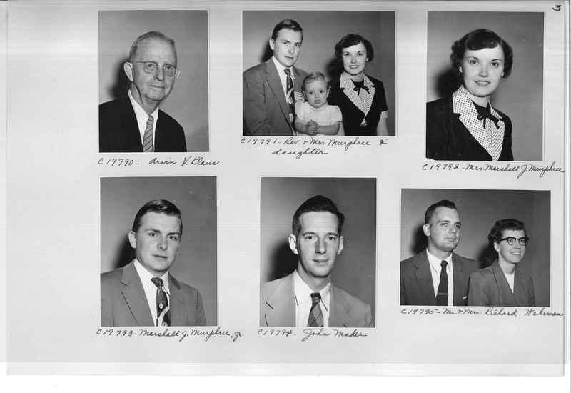 Mission Photograph Album - Portraits #09 Page 0003