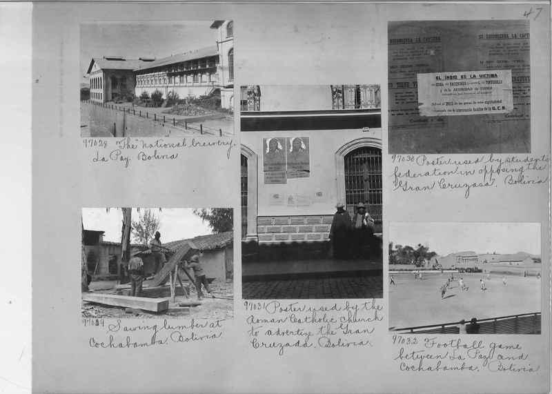 Misson Photograph Album - South America #8 page 0047