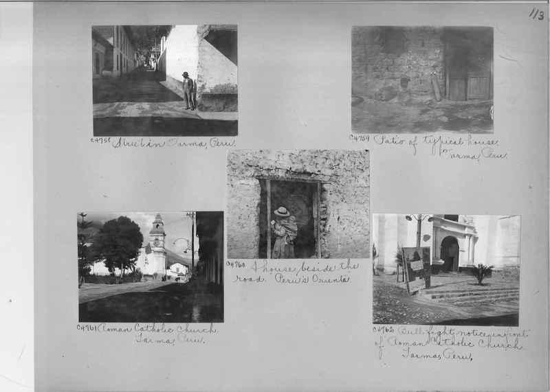 Misson Photograph Album - South America #8 page 0113