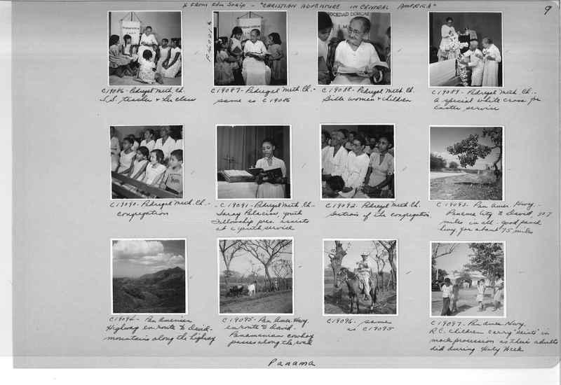 Mission Photograph Album - Panama #05 page 0009