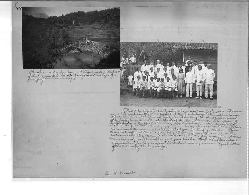 Mission Photograph Album - Malaysia O.P. #1 page 0104