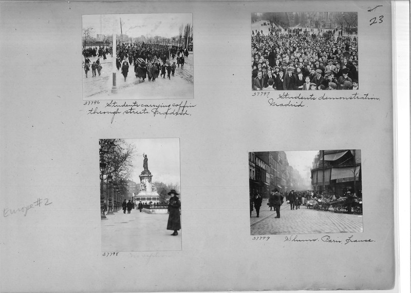 Mission Photograph Album - Europe #02 Page 0023