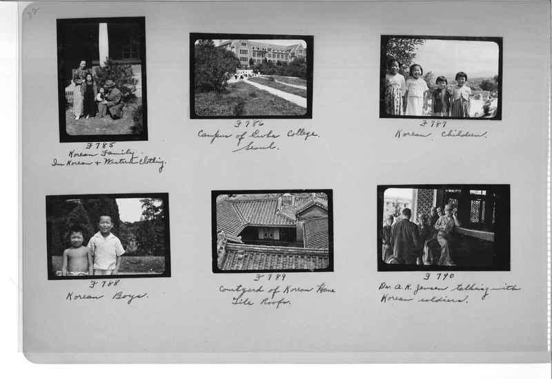 Mission Photograph Album - Korea #6 page 0022