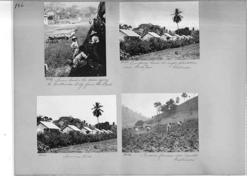Mission Photograph Album - Panama #04 page 0106