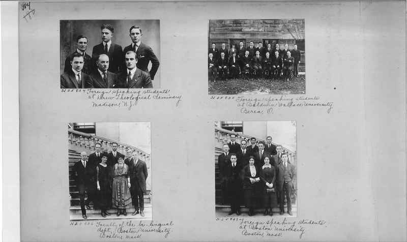 Mission Photograph Album - Education #1 page 0184