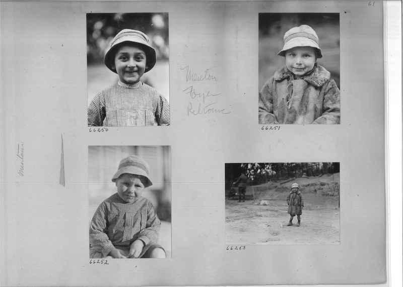 Mission Photograph Album - Europe #05 Page 0061