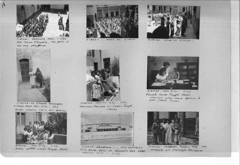 Mission Photograph Album - Mexico #09 Page 0018