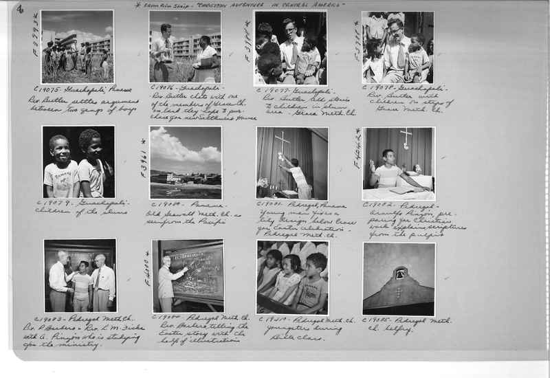 Mission Photograph Album - Panama #05 page 0008