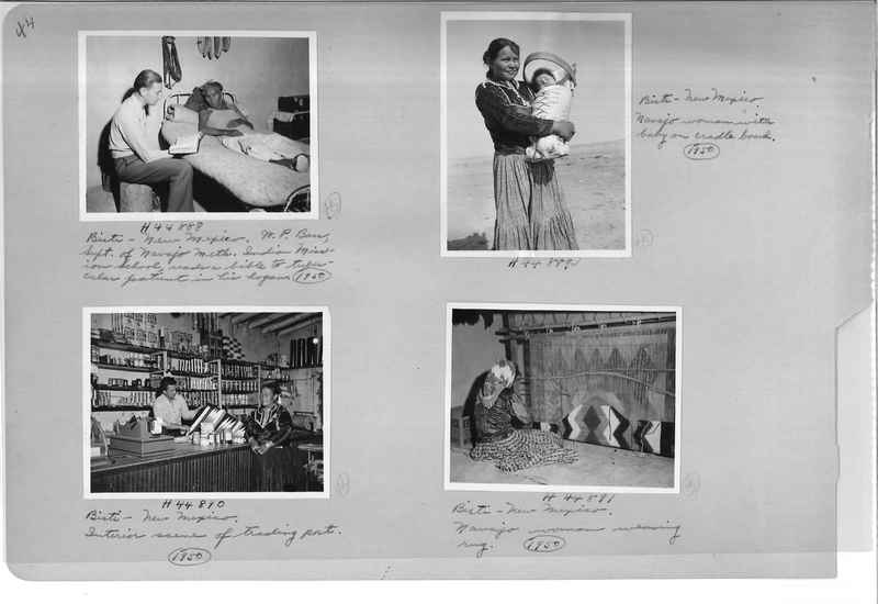 Mission Photograph Albums - Indians #3 Page_0044