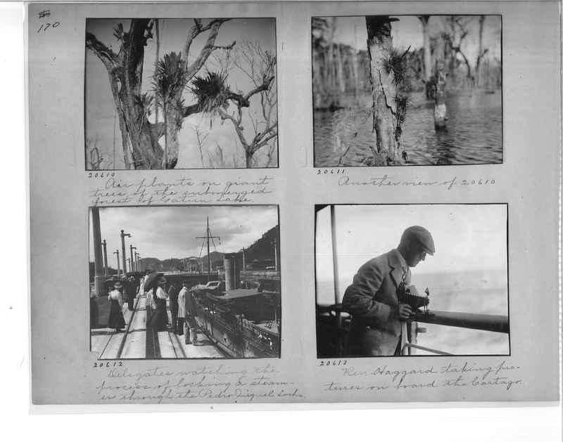 Mission Photograph Album - Panama #1 page  0170
