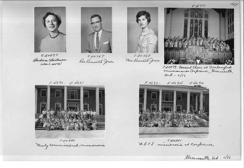 Mission Photograph Album - Portraits #09 Page 0127