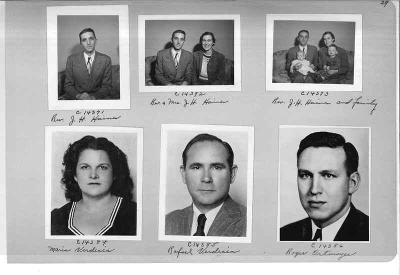 Mission Photograph Album - Portraits #07 Page 0029