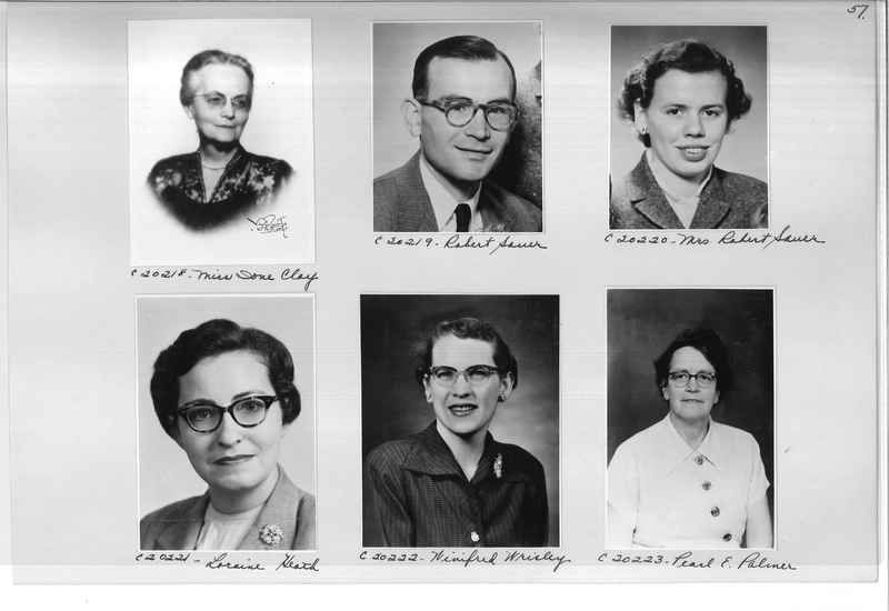 Mission Photograph Album - Portraits #09 Page 0057
