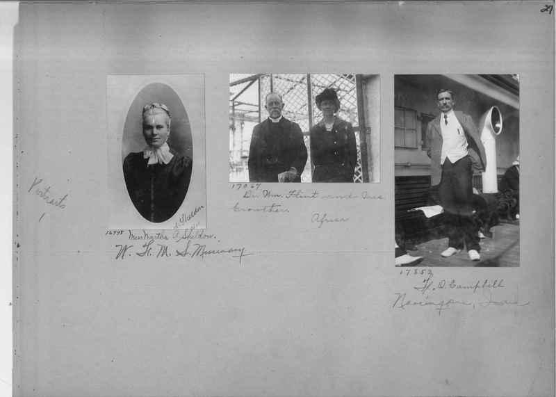 Mission Photograph Album - Portraits #1 page 0027
