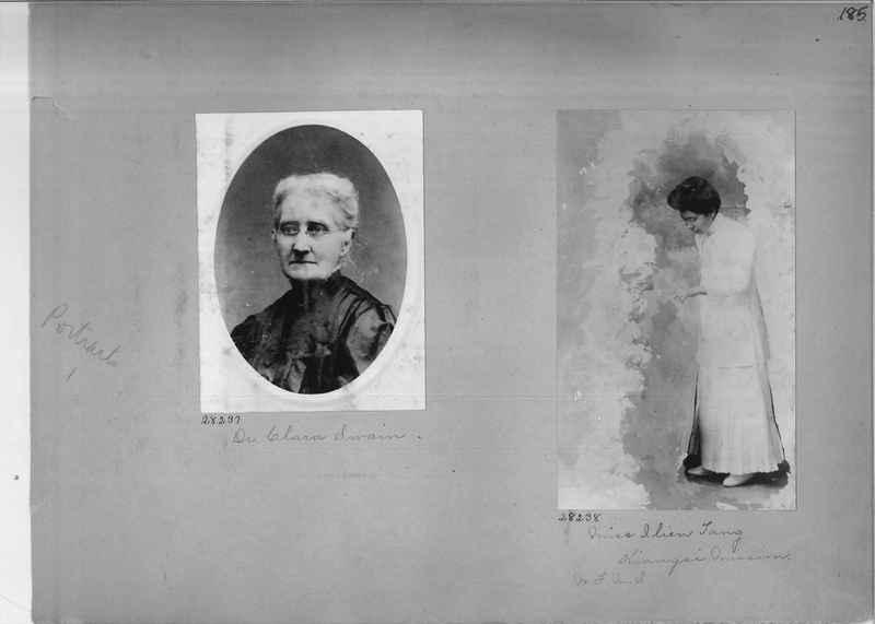 Mission Photograph Album - Portraits #1 page 0185