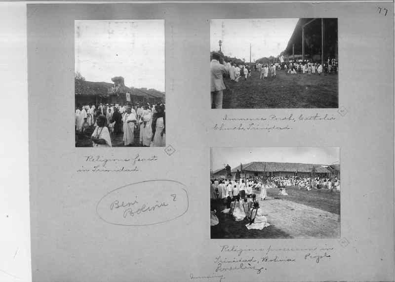 Mission Photograph Album - South America O.P. #1 page 0077