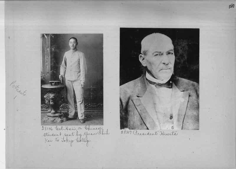 Mission Photograph Album - Portraits #1 page 0127