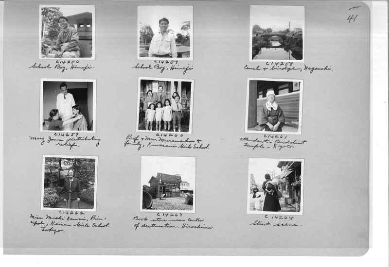 Mission Photograph Album - Japan #07 Page 0041