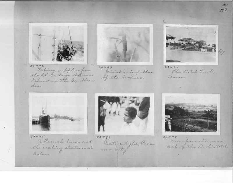 Mission Photograph Album - Panama #1 page  0147