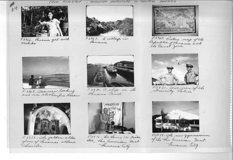 Mission Photograph Album - Panama #05 page 0024