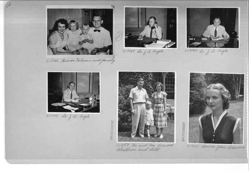 Mission Photograph Album - Portraits #07 Page 0112