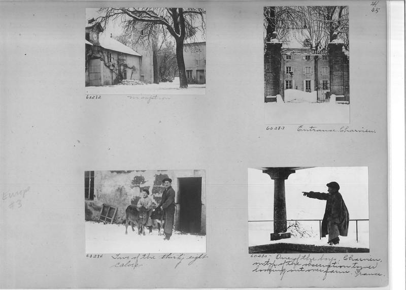 Mission Photograph Album - Europe #03 Page 0045