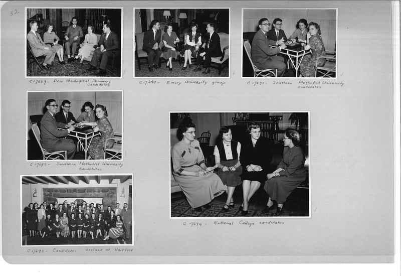 Mission Photograph Album - Portraits #13 Page 0052