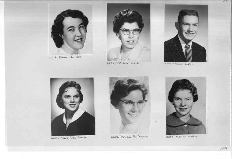 Mission Photograph Album - Portraits #12 Page 0021