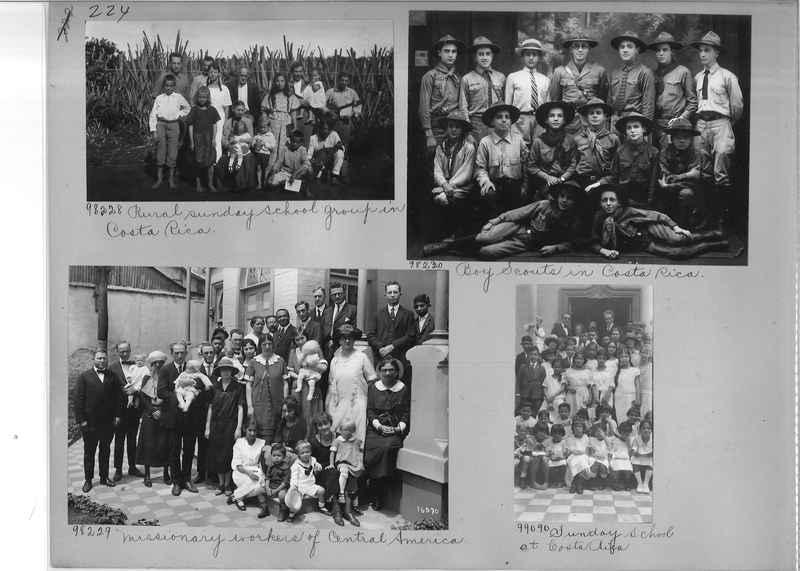 Mission Photograph Album - Panama #04 page 0224