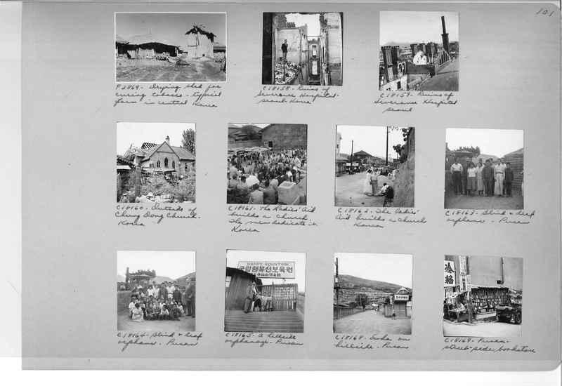 Mission Photograph Album - Korea #6 page 0101