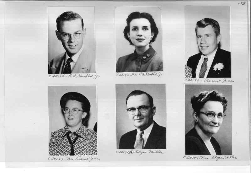 Mission Photograph Album - Portraits #09 Page 0053