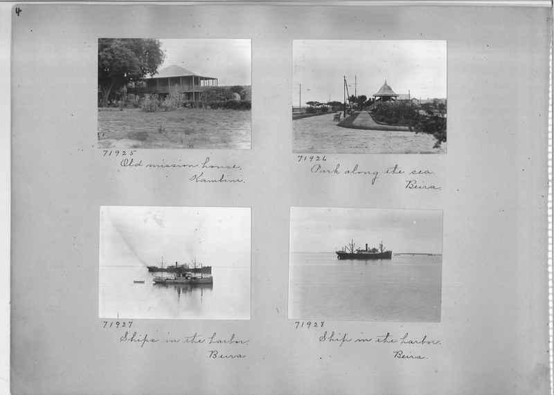 Mission Photograph Album