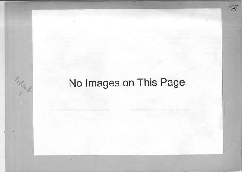 Mission Photograph Album - Portraits #04 Page 191