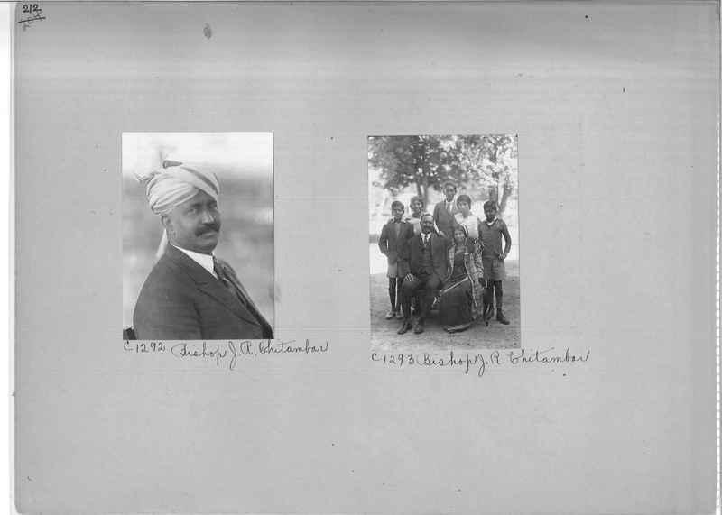 Mission Photograph Album - Portraits #04 Page 212