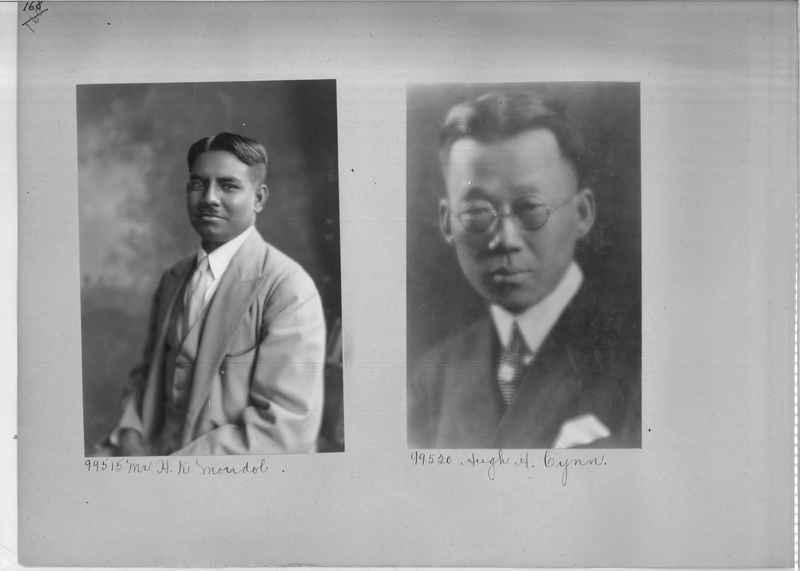 Mission Photograph Album - Portraits #04 Page 168