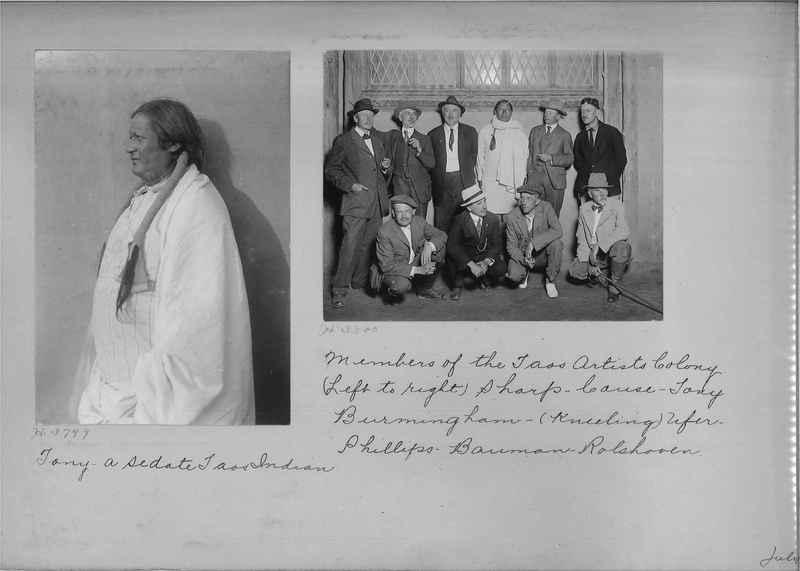 Mission Photograph Albums - Indians #1 page 0044