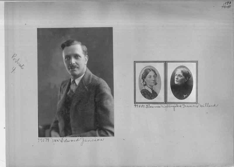 Mission Photograph Album - Portraits #04 Page 173