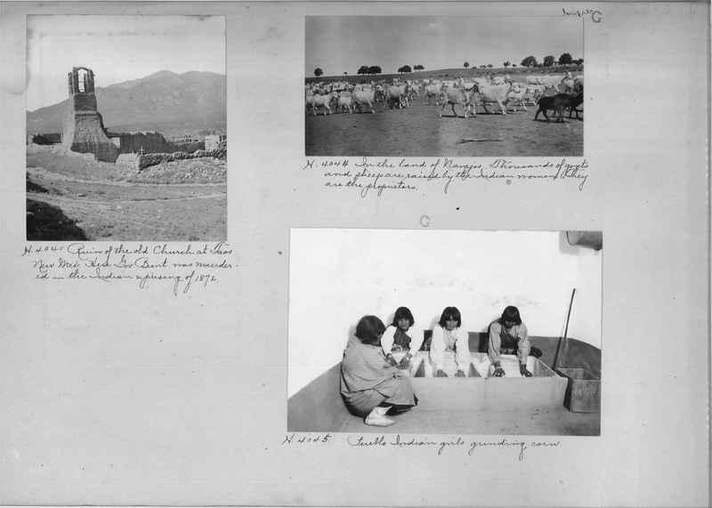 Mission Photograph Albums - Indians #1 page 0076