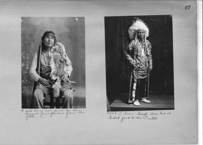 Mission Photograph Albums - Indians #1 page 0097