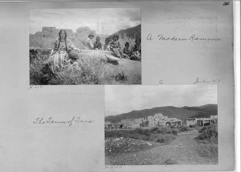 Mission Photograph Albums - Indians #1 page 0035