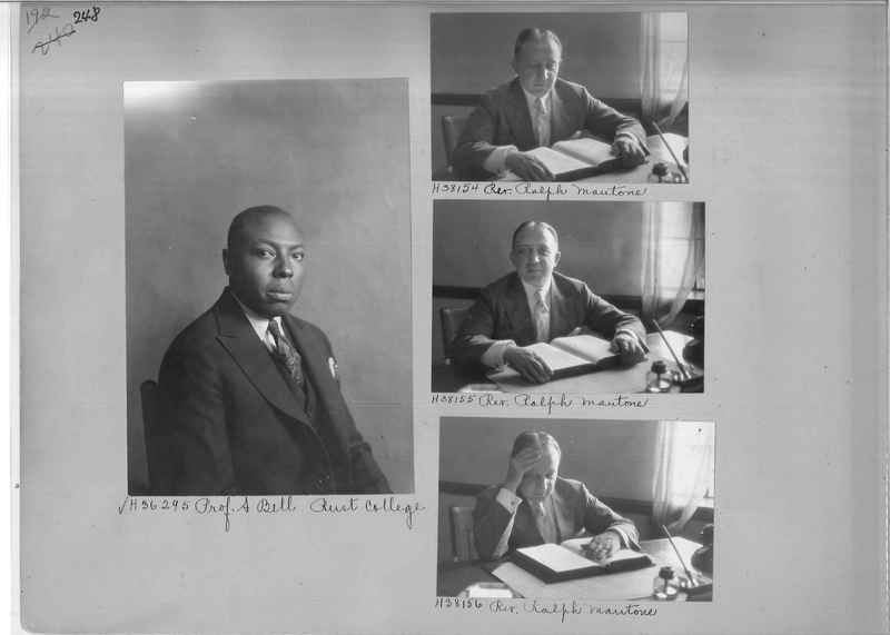 Mission Photograph Album - Portraits #04 Page 248