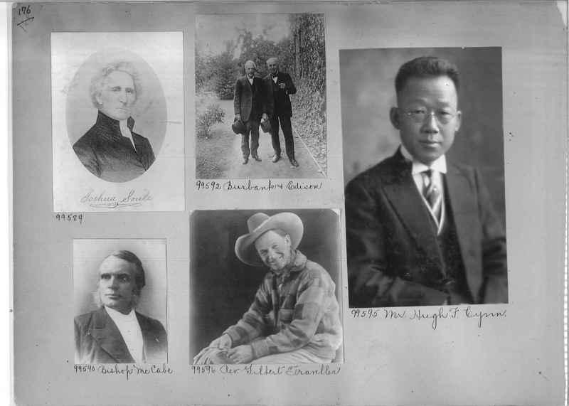Mission Photograph Album - Portraits #04 Page 176
