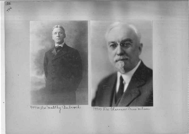 Mission Photograph Album - Portraits #04 Page 182