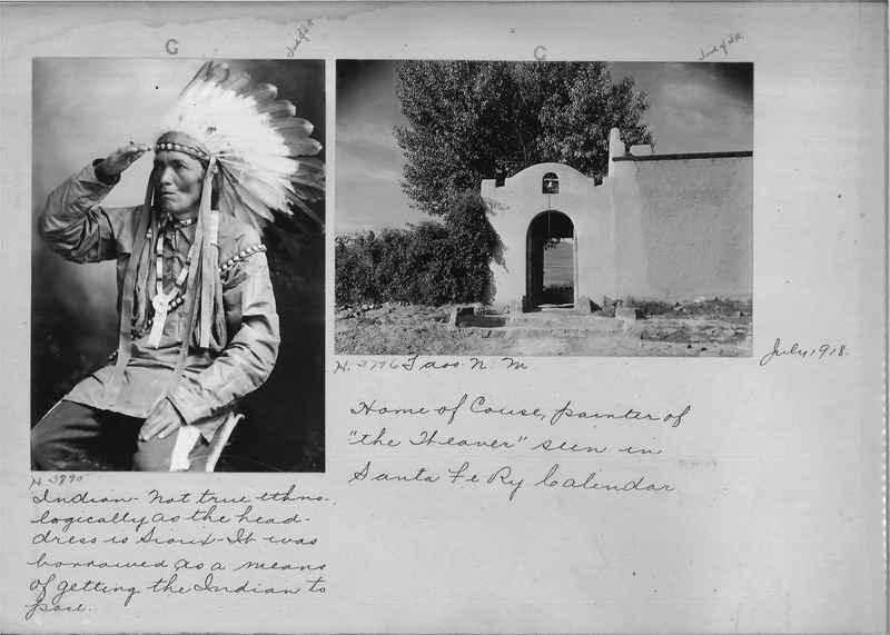Mission Photograph Albums - Indians #1 page 0042