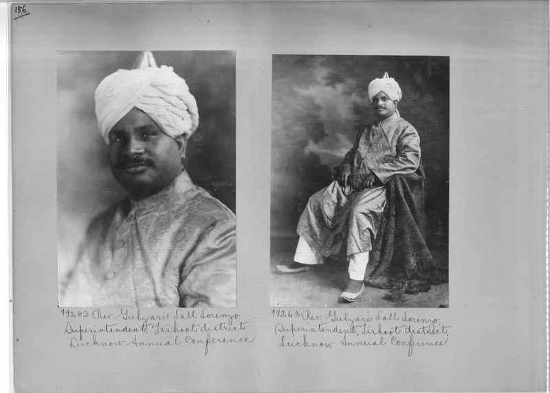 Mission Photograph Album - Portraits #04 Page 156