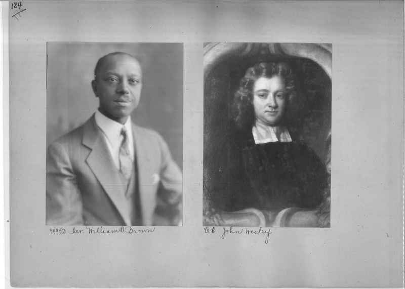 Mission Photograph Album - Portraits #04 Page 184