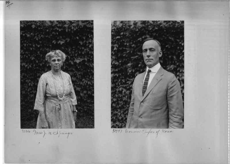 Mission Photograph Album - Portraits #04 Page 034