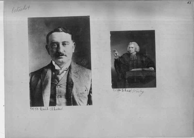 Mission Photograph Album - Portraits #04 Page 061